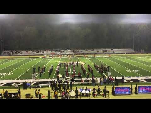 Camden Fairview High School Band 2018
