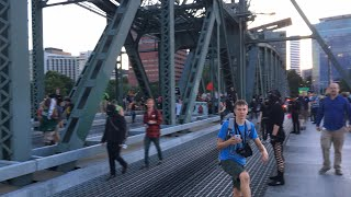 Protesters take Portland Bridge