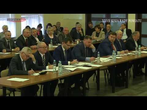 MASTER TV ŁUKÓW – XXVII Sesja Rady Powiatu cz. 1