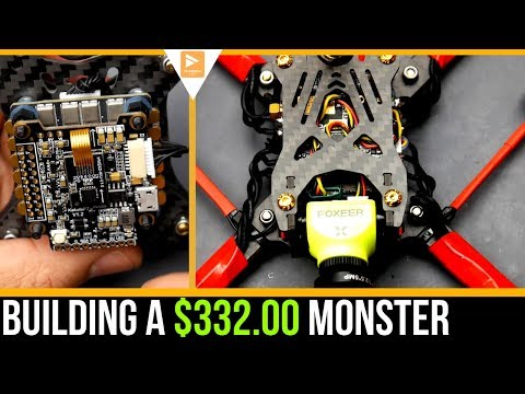 How To Build A Custom $332 FPV Racing / Freestyle Drone 2019 // Holybro Metal 4in1, Kakaute F7