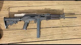 9mm AK47 Conversion Build!! Part 3!