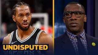 Shannon and Skip on Spurs - Kawhi drama, Coach Popovich praising LaMarcus Aldridge | UNDISPUTED