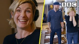 Download lagu Coldplay surprise Jodie Whittaker as she records Yellow for charity album | BBC Trailers