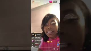ASIAN DOLL COMES AT CUBAN DOLL FOR HER COMMENTS ON COLORISM || IG LIVE PT 2