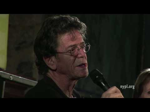 Lou Reed | LIVE from the NYPL