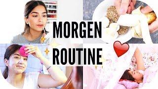 MORGEN ROUTINE - Gesichtspflege, Frühstück, Alltags Make Up | Sanny Kaur