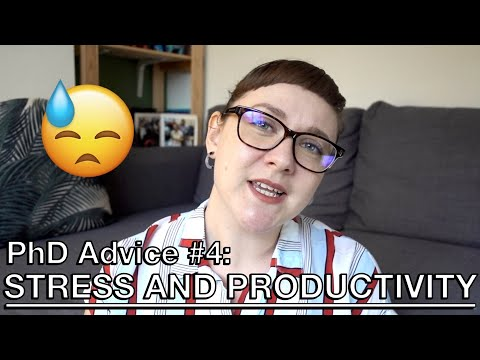 phd-advice-#4:-managing-stress-and-productivity-|-dr.-youtube-lse