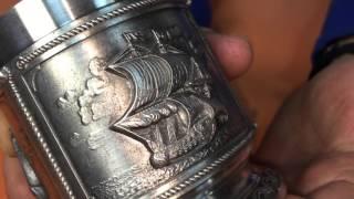 Видеообзор стакана для виски «Корабли» (10320 Artina SKS)