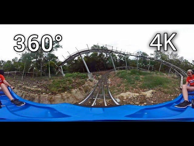 Runaway Mountain Coaster 360° on-ride 4K POV