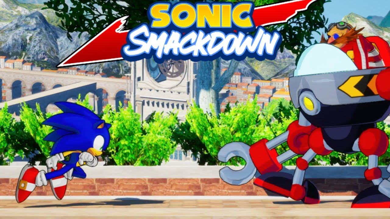 Sonic Smackdown – I was legit about to head off for the night until suddenly they dropped an alpha release for vector in sonic smackdown.