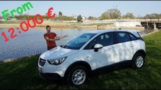 2018 Opel Crossland X 1.6 Review / Acceleration Test