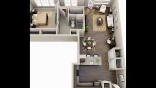 One bedroom floor plans by optea-referencement.com
