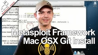 Metasploit Framework Github Setup on Mac OSX - Metasploit Minute