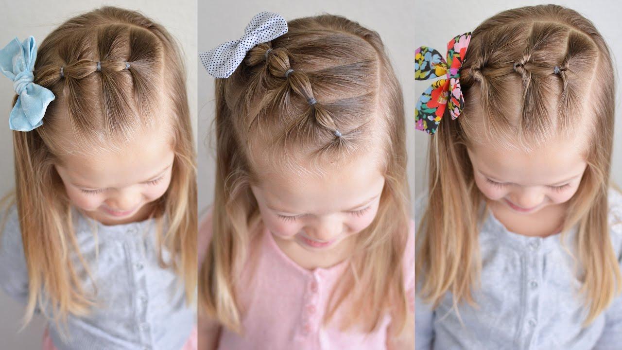 coiffure facile pour petite fille : 18 idées simples pour
