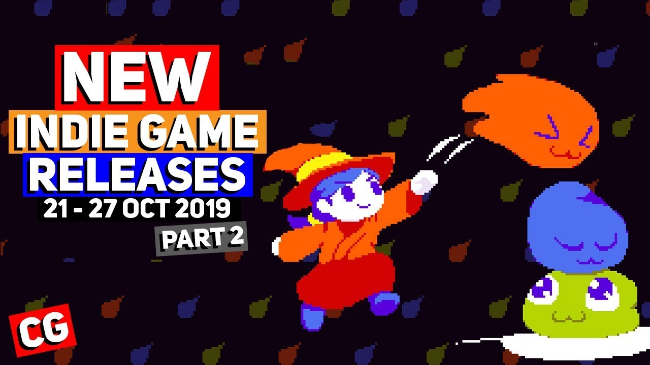 NEW Indie Game Releases: 21 - 27 Oct 2019  – Part 2 (Upcoming Indie Games)