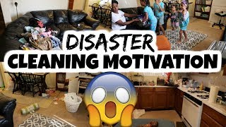 Disaster Cleaning Motivation / Realistic Clean With Me / Cleaning My House