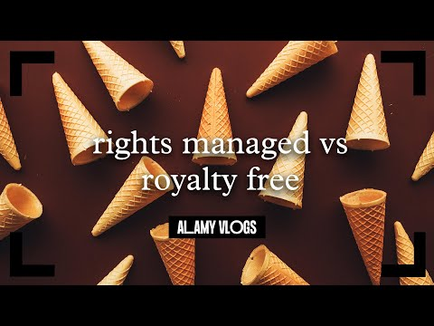 Image Licences - Rights Managed vs Royalty Free - Alamy Vlogs