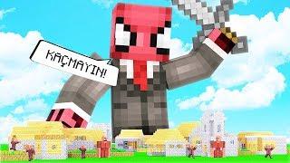 FAKİR DEV OLUP KÖYÜ YIKTI! 😱 - Minecraft