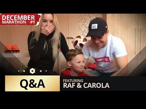 'NOOIT MEER FIFA OF NOOIT MEER MET MIJN VRIENDIN?' | Q&A MET RAF & CAROLA | DecemberMarathon#9