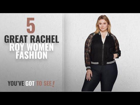 Rachel Roy Women Fashion [2018 Best Sellers]: RACHEL Rachel Roy Women's Plus Size Lace Bomber,