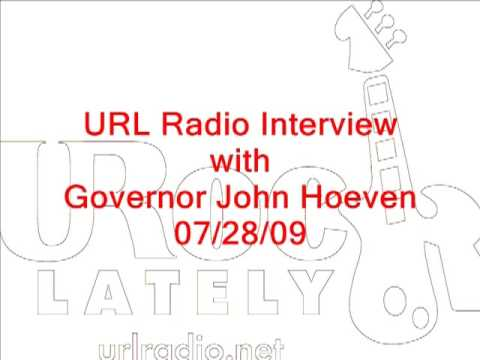 Governor John Hoeven on URL Radio
