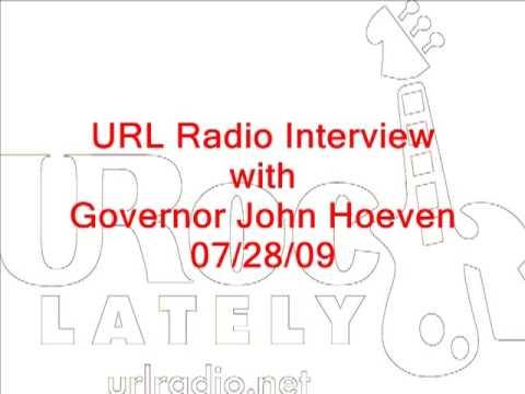 Governor John Hoeven on URL Radio