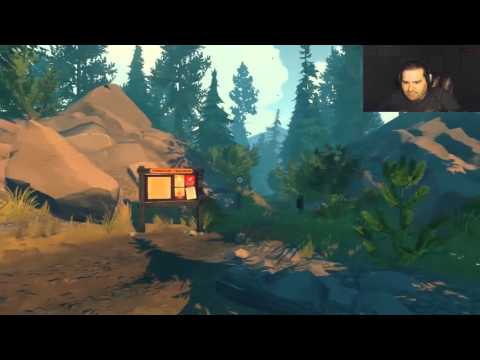 Firewatch Day 1 | Gorgeous Scenary And . . . Naked Girls?