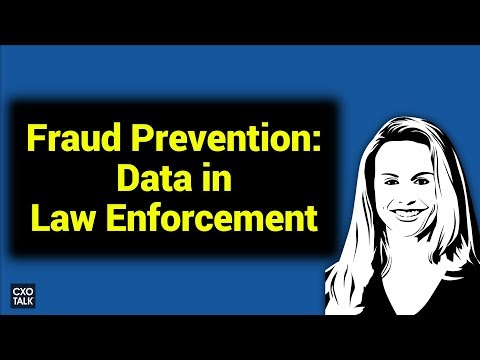 Data and Analytics in Federal Law Enforcement at the Office of the Inspector General (CXOTalk #253)