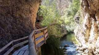 Rio Castril afluente del Guadalquivir a la altura de la localidad de Castril Granada