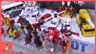 헬로 카봇 신제품 장난감 총집합 ♡ 골드렉스 레스큐 펜타스톰 로드세이버 트루폴리스 제트렌 킹가이즈 캅스 다 모이다 Carbot Car Toy | 말이야와아이들 MariAndKids