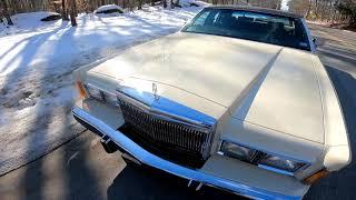 1989 lincoln town car test drive