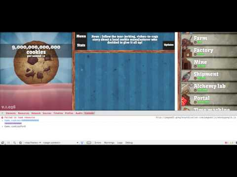Cookie Clicker Hack Version 1.034