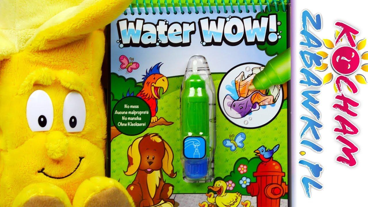 Gang Świeżaków 2 • Magiczny zestaw do kolorowania • Water Wow • Bajki i kreatywne zabawki