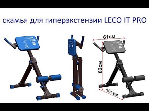 Скамья для выполнения гиперэкстензии LECO IT PRO