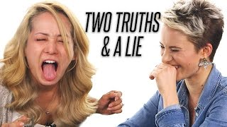 Co-Workers Play Two Truths and a Lie, DRUNK!!!