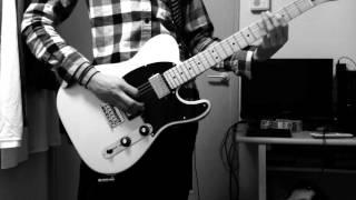 pearl jam even flow guitar cover