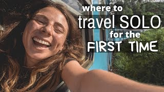 FIRST TIME SOLO TRAVELLING 🌏Where is best to go??