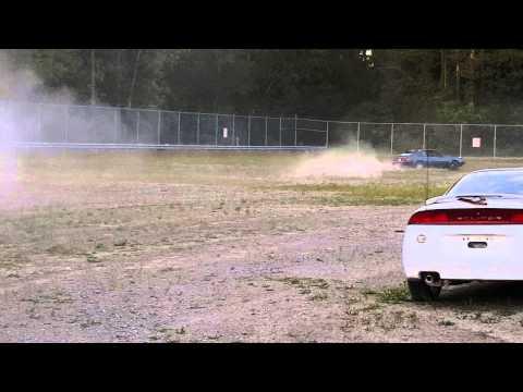 1983 Toyota Celica Supra in the dirt