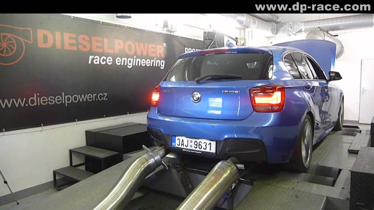 NEW BMW M135i xDrive 320PS - DYNO RUN _DIESELPOWER dyno tunig: www.dp-race.com