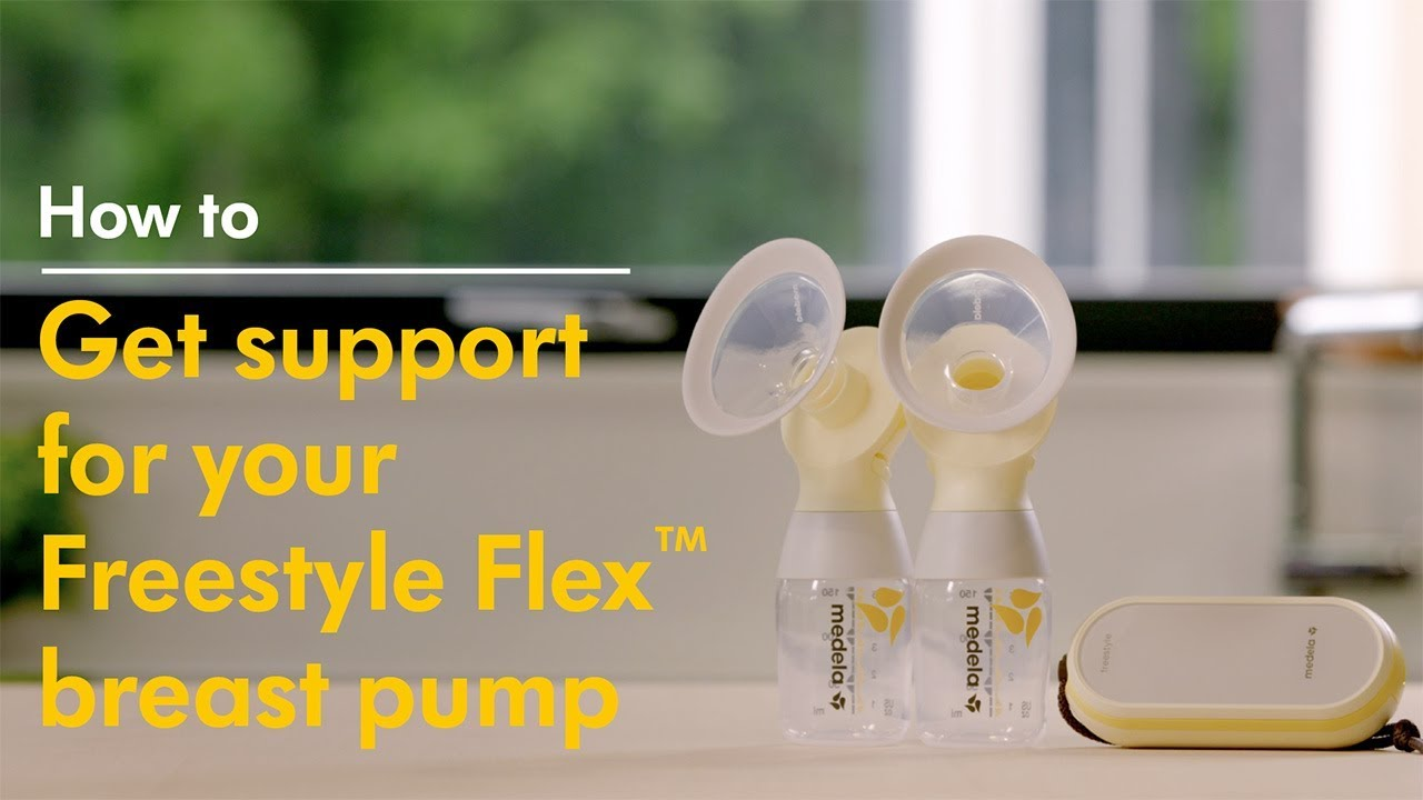 Troubleshooting The Medela Freestyle Flex Double Electric Breast