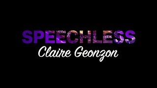 Claire Geonzon - Speechless by Naomi Scott From The Movie Aladdin (Cover)