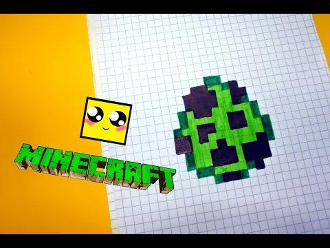 Майнкрафт: Схемы для вышивки крестиком -