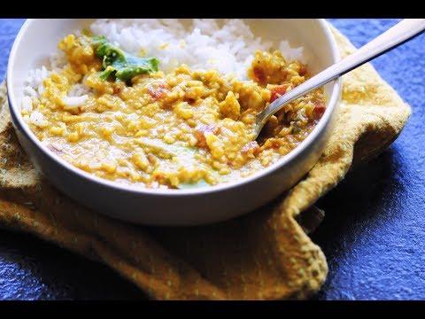 spicy-coconut-red-lentil-dal-(instant-pot-+-stovetop)