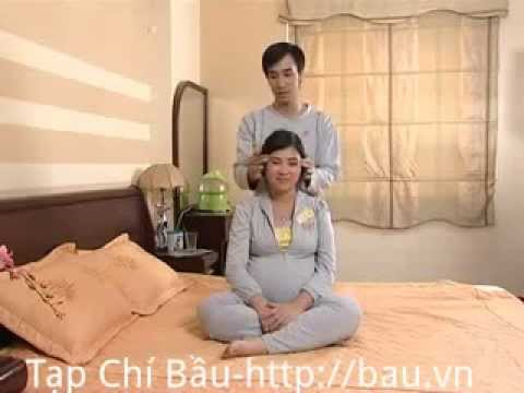Hướng dẫn massage cho bà bầu tại nhà -Tambehanoi.com
