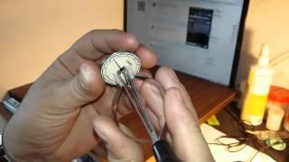 Посылка из Китая -  Инструмент для снятия часовых стрелок