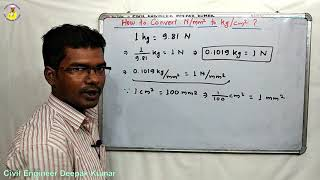 How to Convert N/mm2 to Kg/cm2 ? | Convert N/mm² to Kg/cm² |