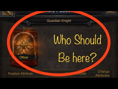 Clash Of Kings: What's The Best Hero To Defend With? Guardian Knight!