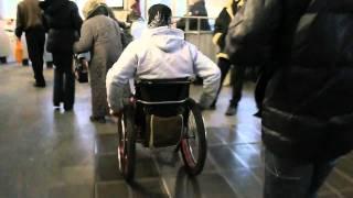 метро + инвалидная коляска