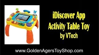 Vtech Idiscover App Activity Table Toy