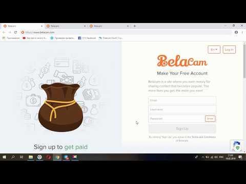 Belacam - Новая криптовалютная соц. сеть, где каждый может легко заработать токены Bela!